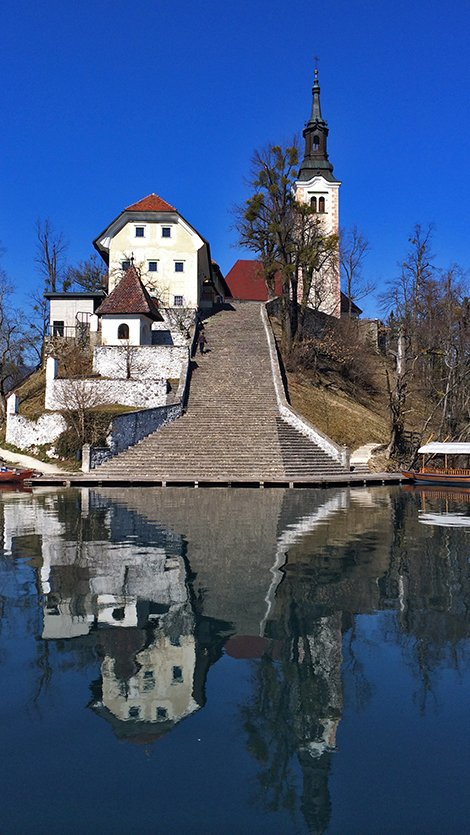 Keep up with Bled's traditions.